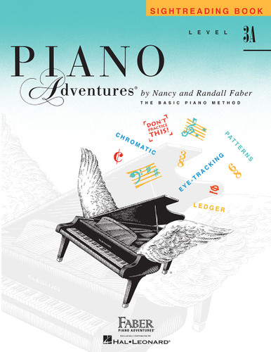 Piano Adventures - Sightreading Book Level 3A - Faber