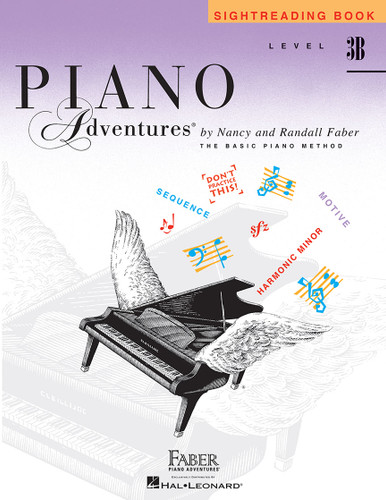 Piano Adventures - Sightreading Book Level 3B - Faber
