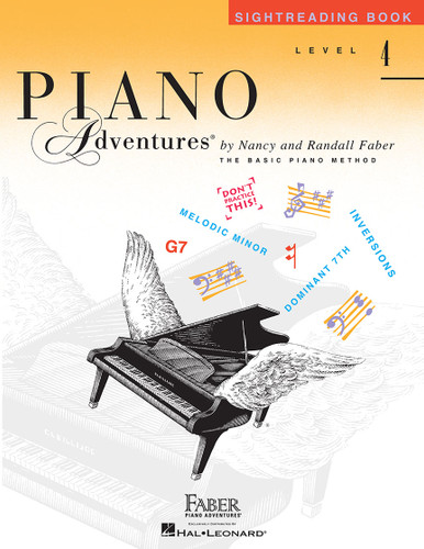 Piano Adventures - Sightreading Book Level 4 - Faber
