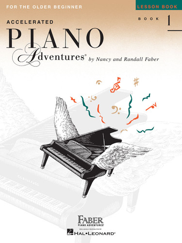 Accelerated Piano Adventures for the Older Beginner - Lesson Book 1 - Faber