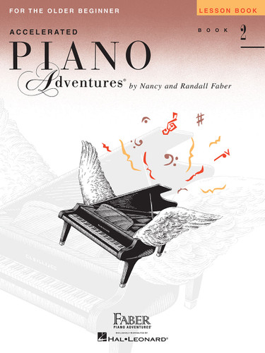 Accelerated Piano Adventures for the Older Beginner - Lesson Book 2 - Faber