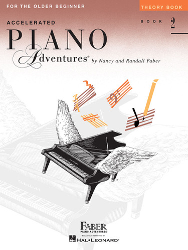 Accelerated Piano Adventures for the Older Beginner - Theory Book 2 - Faber