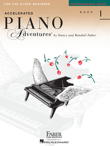 Accelerated Piano Adventures for the Older Beginner - Performance Book 1 - Faber
