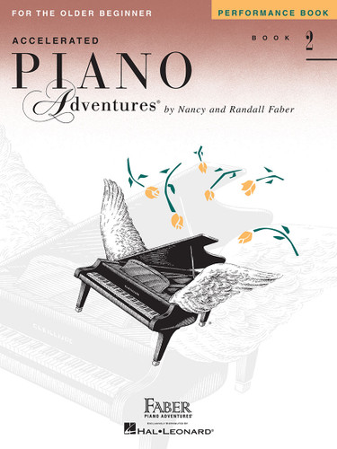Accelerated Piano Adventures for the Older Beginner - Performance Book 2 - Faber
