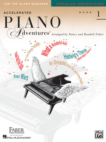 Accelerated Piano Adventures for the Older Beginner - Popular Repertoire Book 1 - Faber