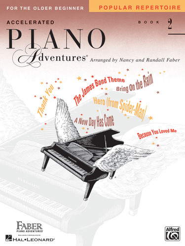 Accelerated Piano Adventures for the Older Beginner - Popular Repertoire 2 - Faber