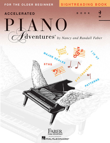 Accelerated Piano Adventures for the Older Beginnger - Sightreading Book 2 - Faber