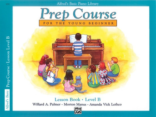 Alfred's Basic Piano Library - Prep Course -  Lesson Level B