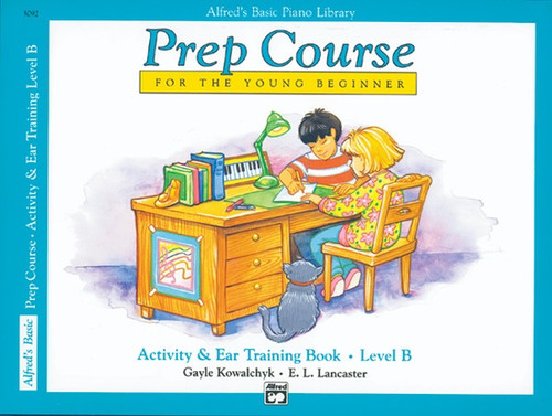 Alfred's Basic Piano Library - Prep Course - Activity & Ear Training B