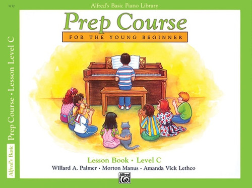 Alfred's Basic Piano Library - Prep Course - Lesson Level C