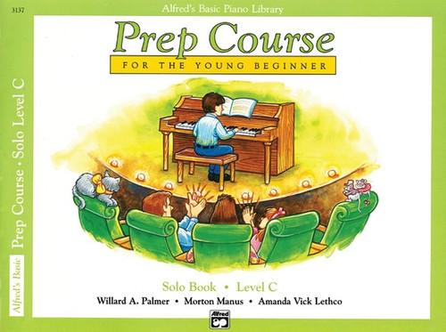 Alfred's Basic Piano Library - Prep Course - Solo Book C