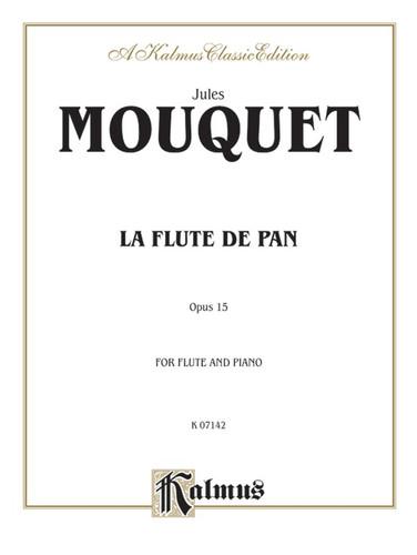 La Flute de Pan, Op. 15 for Flute and Piano - Mouquet