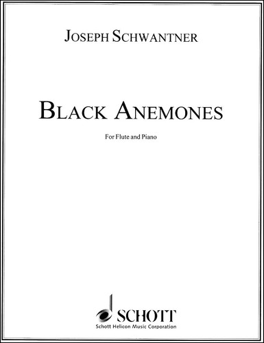 Black Anemones for Flute and Piano