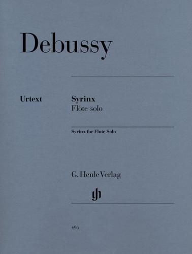 Debussy: Syrinx ed. Heinemann