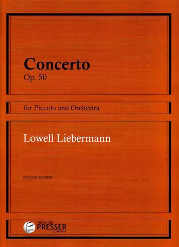 Concerto, Op. 50 - Liebermann