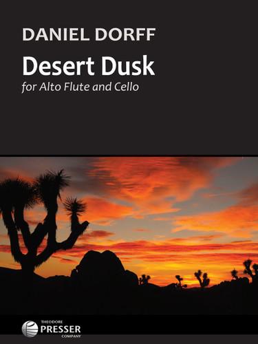 Desert Dusk for Alto Flute and Cello - Daniel Dorff
