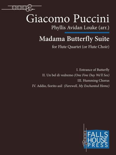 Puccini: Madama Butterfly Suite arr. Louke