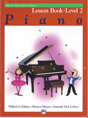 Alfred's Basic Piano Library - Lesson Book Level 2