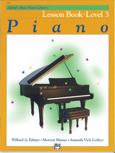 Alfred's Basic Piano Library - Lesson Book Level 3