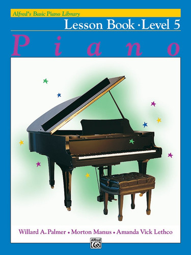 Alfred's Basic Piano Library - Lesson Book Level 5
