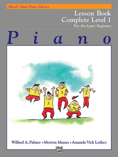 Alfred's Basic Piano Library - Technic Book Complete Level 1