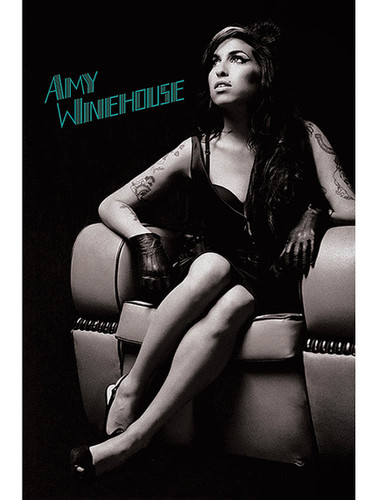 """Amy Winehouse: Chair Poster - 24"""" x 36"""""""