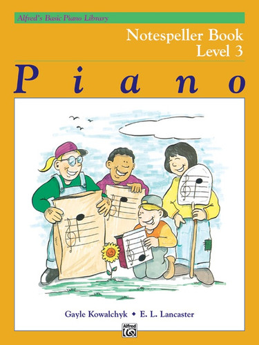 Alfred's Basic Piano Library - Notespeller Book Level 3
