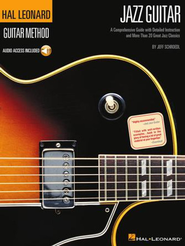 Jazz Guitar - Hal Leonard Guitar Method Book + Online Audio