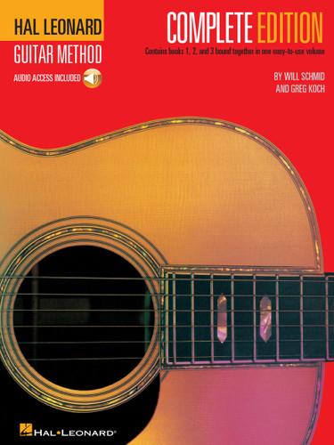 Hal Leonard Guitar Method - Complete Edition - Audio Access Included