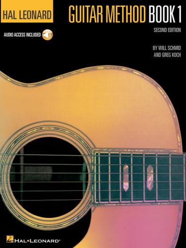 Hal Leonard Guitar Method Book 1 - Includes CD & Online Audio