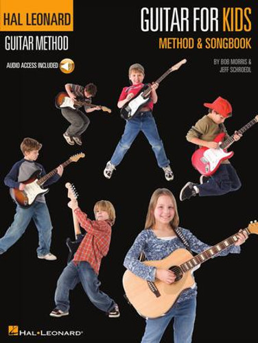 Guitar for Kids - Hal Leonard Guitar Method - Audio Access Included
