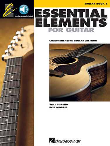 Essential Elements for Guitar - Book 1 - Book and Audio