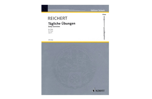 Daily Exercises for Flute, Op. 5 - Reichert