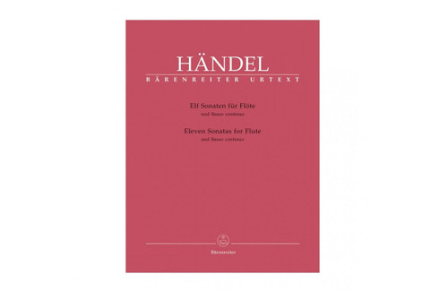 Eleven Sonatas for Flute and Basso Continuo - Handel