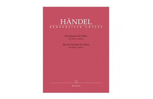 Eleven Sonatas for Flute and Basso Continuo - Handel