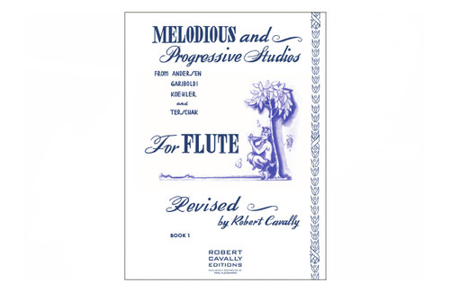 Melodious and Progressive Studies for Flute: Book 1 - Cavally