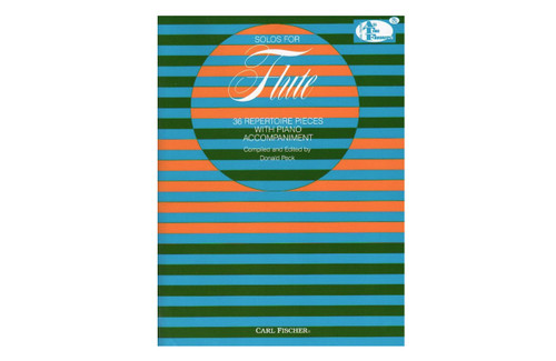 Solos for Flute: 36 Repertoire Pieces with Piano - Peck