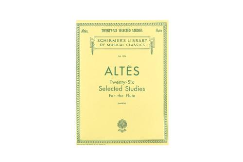 Twenty-Six Selected Studies for the Flute - Altes