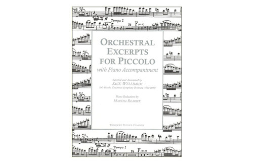 Orchestral Excerpts for Piccolo - Rearick