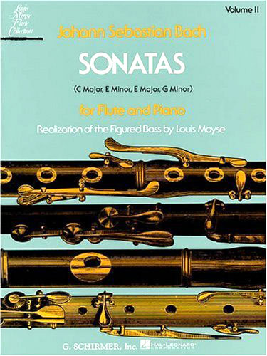 Bach: Sonatas for Flute and Piano, Volume 2 - Bach