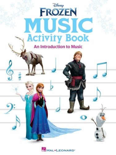 Frozen Music Activity Book