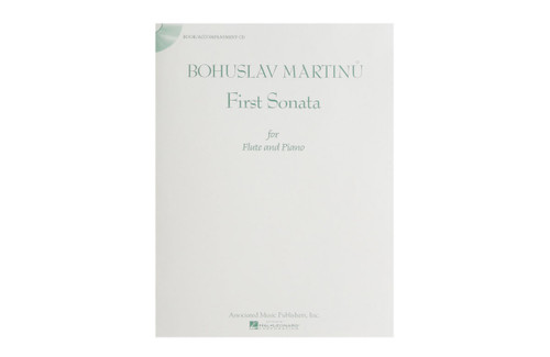 First Sonata for Flute and Piano w/CD - Martinu