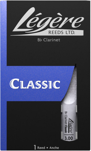 Legere Classic Bb Clarinet Reed
