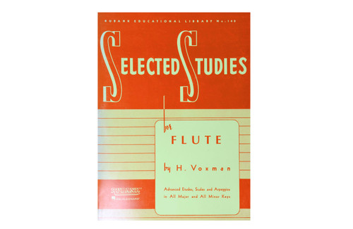Rubank Selected Studies for Flute - Voxman