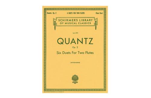 Six Duets for Two Flutes Op. 2 - Quantz