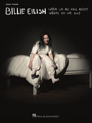 Billie Eilish When We All Fall Asleep Where Do We Go EASY Piano