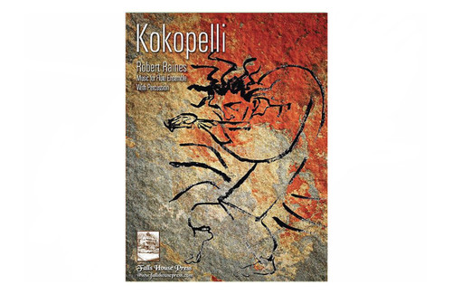 Kokopelli for Flute Choir with Percussion - Raines