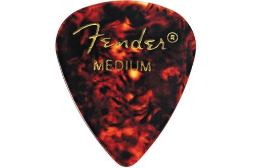 Fender 351 Celluloid Picks - Medium - Pack of 12