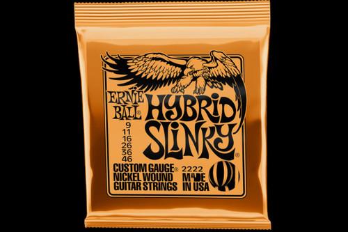 Ernie Ball Hybrid Slinky Electric Guitar Strings 9-46