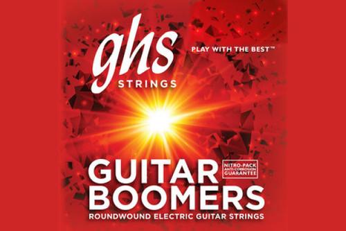 GHS strings Electric Guitar Medium Boomers Set